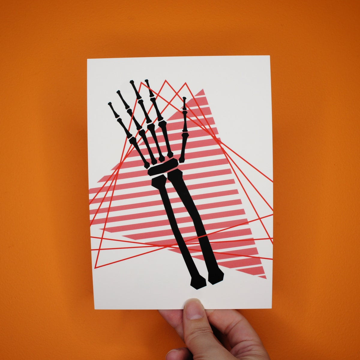 Interlace Mini Art Print