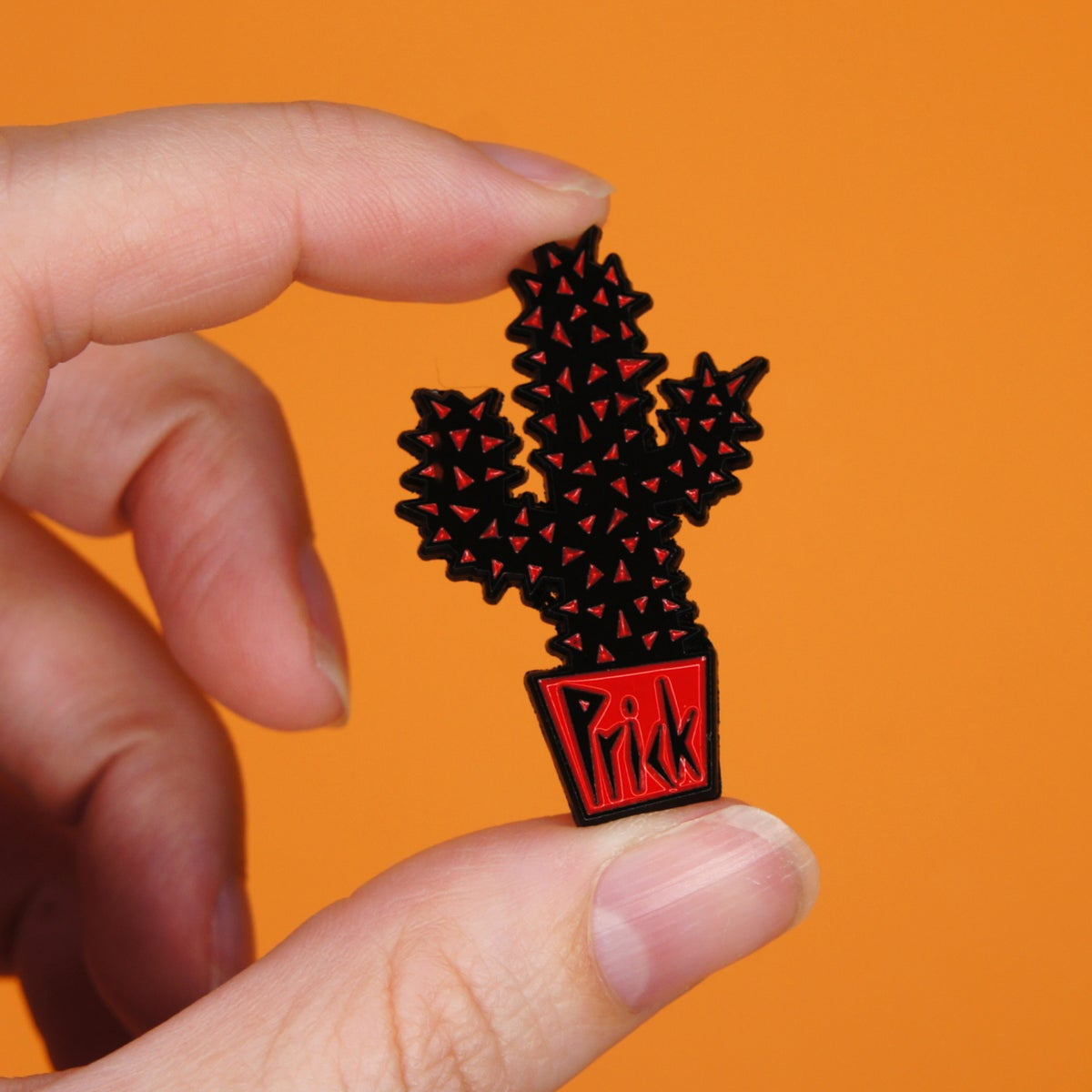Prick Enamel Pin