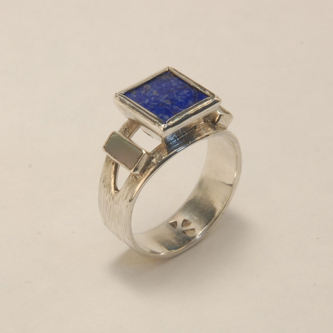 Image of Lapis Lazuli Air & Water Ring size 8 ¾