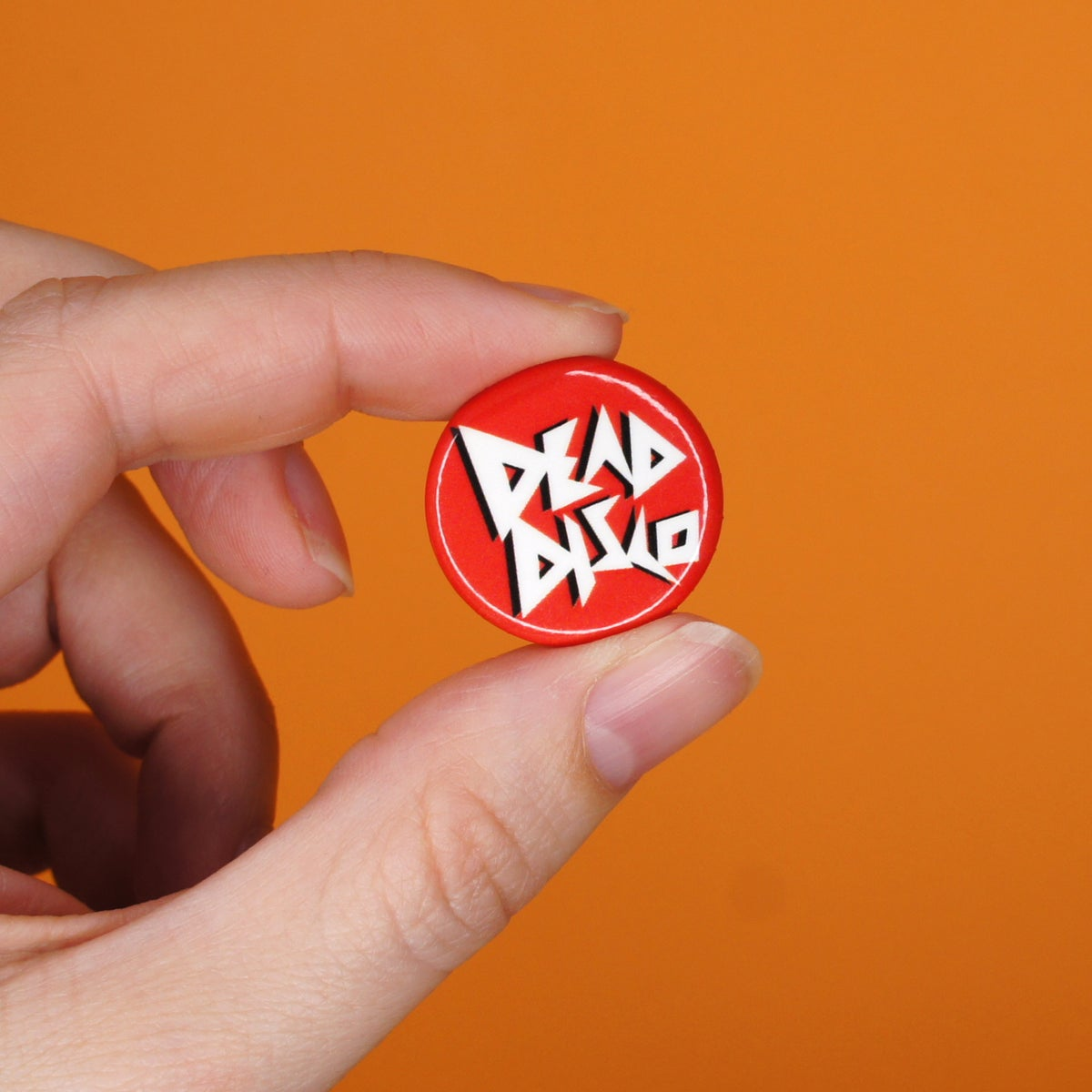 Dead Disco Logo Button