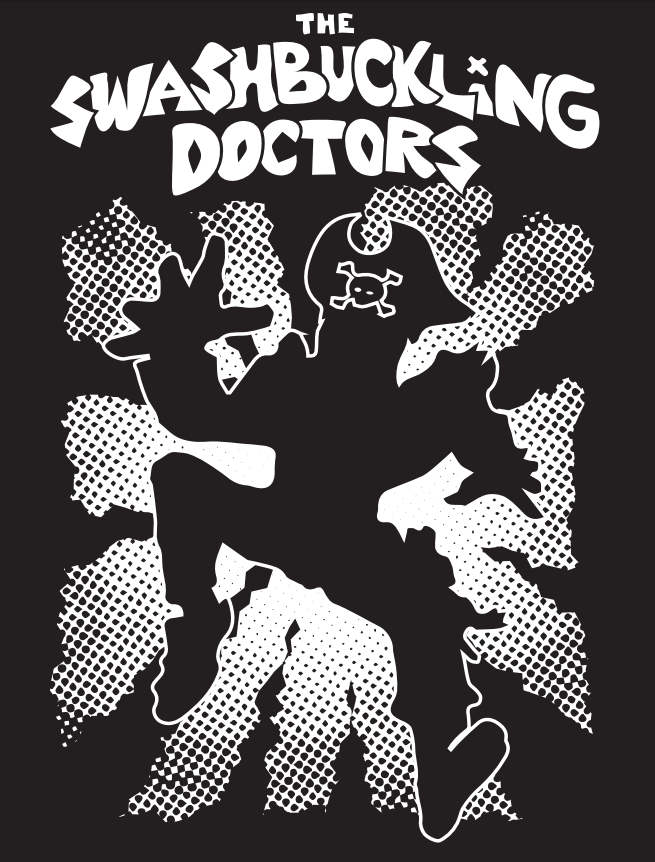 Image of Swashbuckling Doctors Shirt