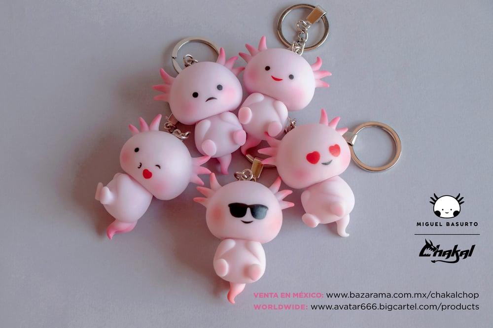 Image of Axolotl keychain FULL SET
