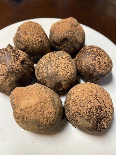 Image of Peanut Butter Fudge Balls