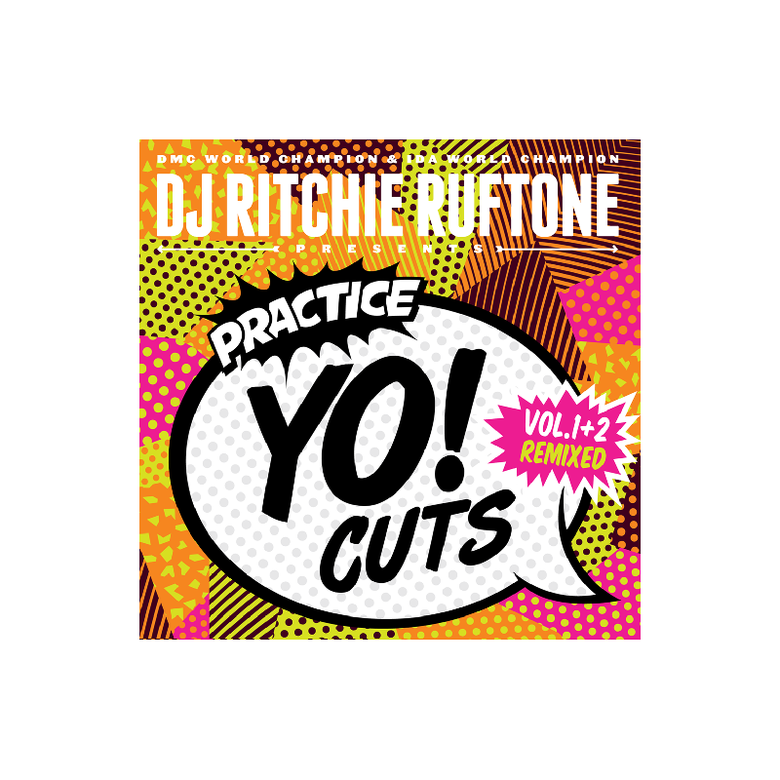 "Image of 7"" Vinyl - DJ Ritchie Ruftone - Practice Yo! Cuts Vol.1&2 Remixed (TTW003)"