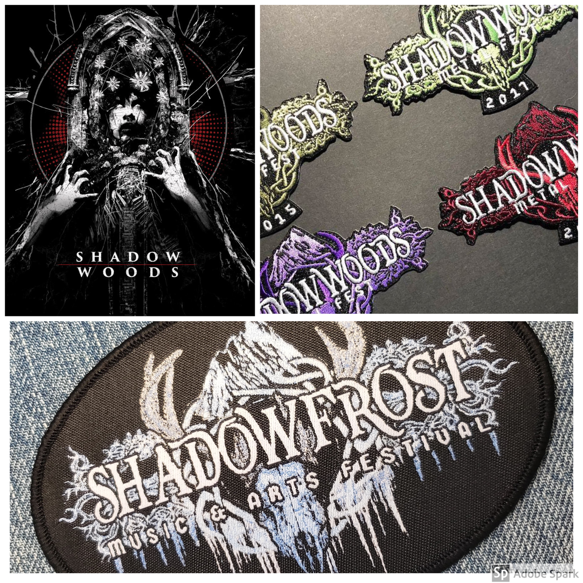 Image of Festival Patches-All designs