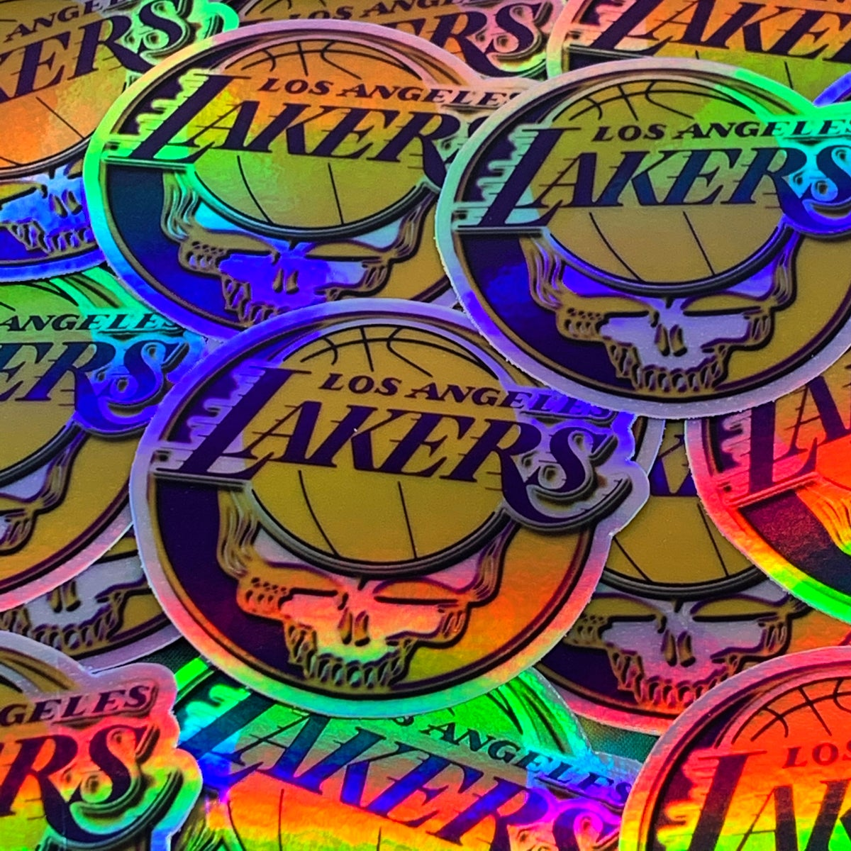 Lakers Holographic Stickers!
