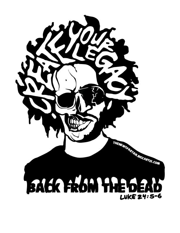 Image of Back from the Dead - March 7, 2020 Official Fight T-shirt