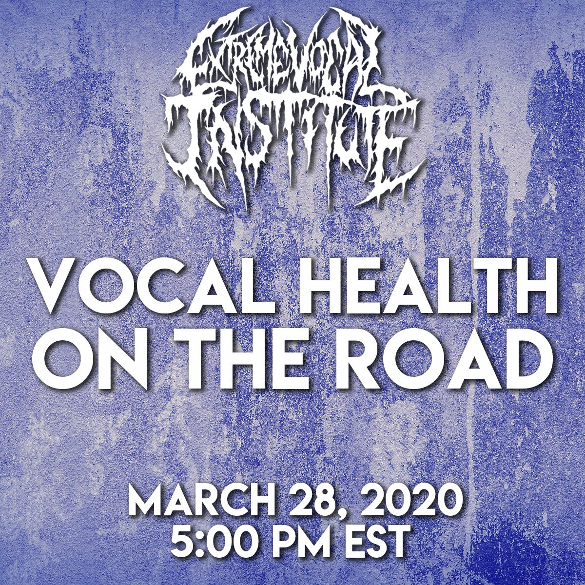 3/28 - Vocal Health on the Road