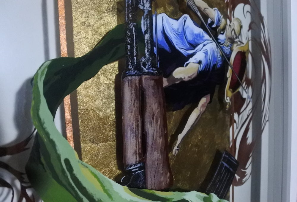 """Image of """"K is for Kalashnikov"""" (2014)"""