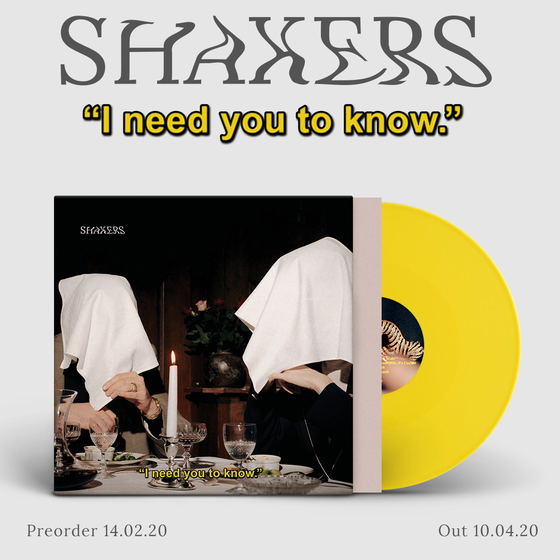 "Image of PRE-ORDER NOW! LADV140 - SHAKERS ""I need you to know"" LP"