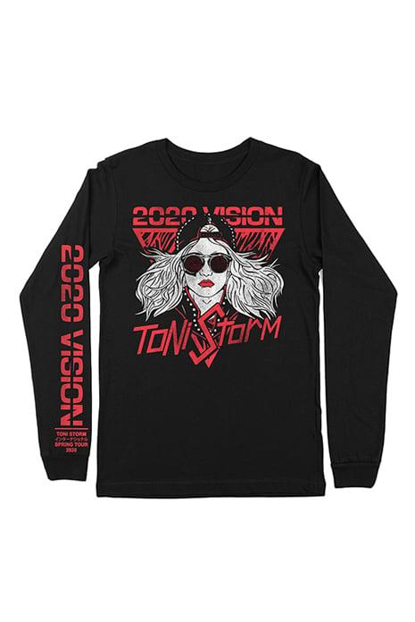 Image of Toni Storm 2020 Vision Tour Long Sleeve T-Shirt