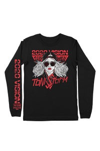 Image of Toni Storm 2020 Vision Tour Long Sleeve T-Shirt