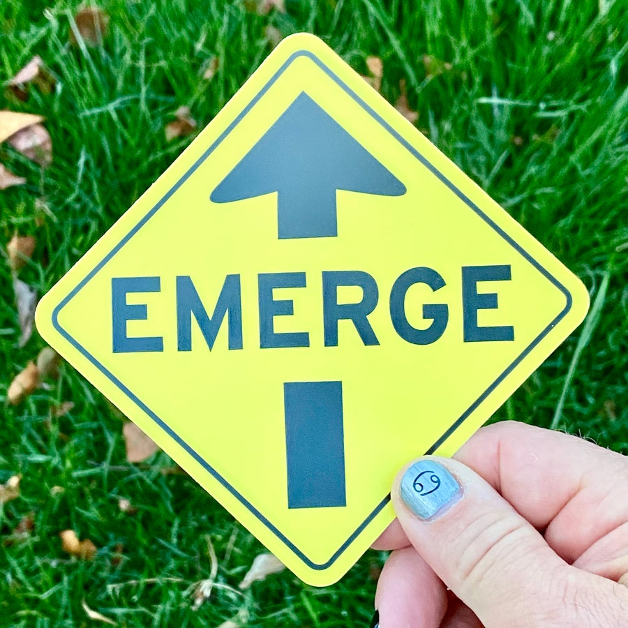 Image of EMERGE Sticker