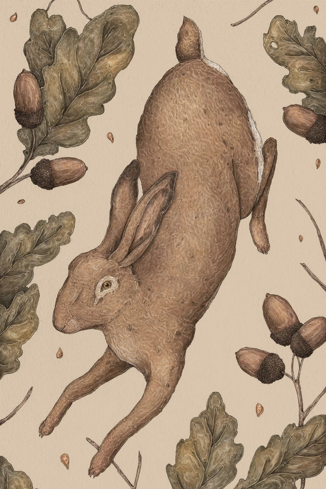 Image of The Hare and Oak Print