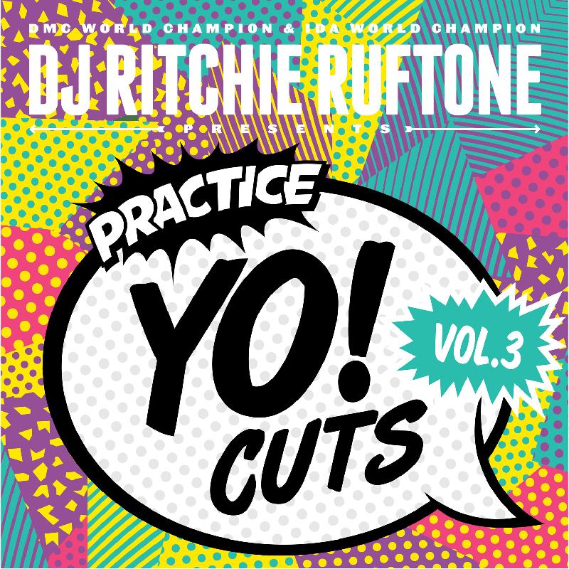 """Image of 12"""" Vinyl - DJ Ritchie Ruftone - Practice Yo! Cuts Vol.3 (TTW004)"""
