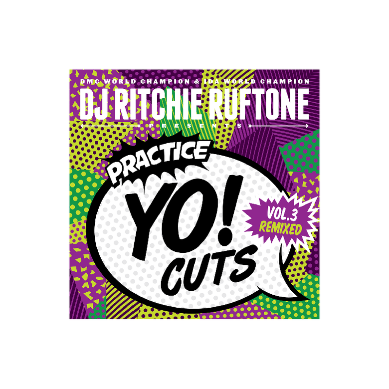 "Image of 7"" Vinyl - DJ Ritchie Ruftone - Practice Yo! Cuts Vol.3 Remixed (TTW005)"