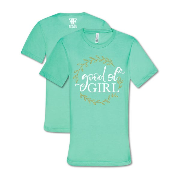 Image of Ladies Good Ol Girl Mint Shirt