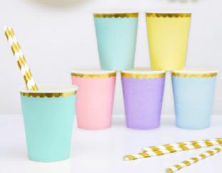 Image of 6 vasos de colores