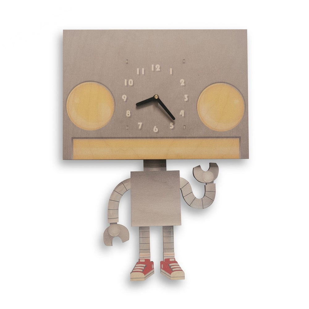 Image of Robot Pendulum Clock