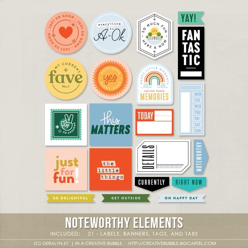 Image of Noteworthy Elements (Digital)