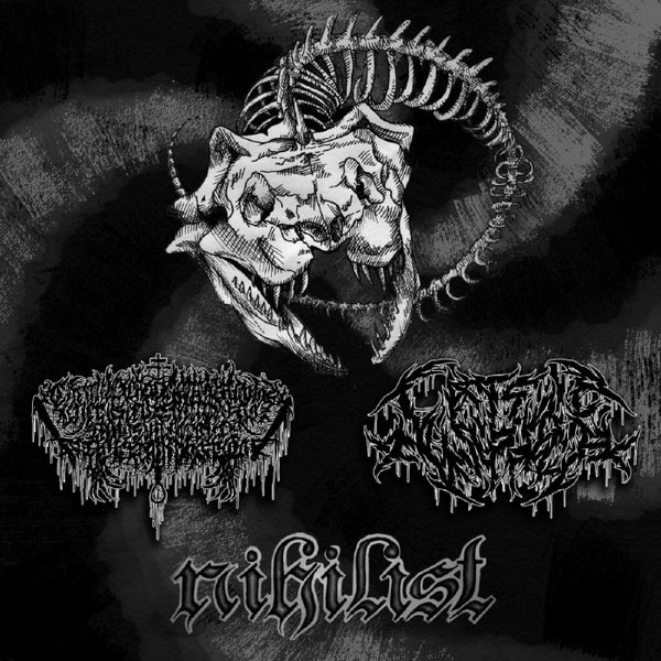 Image of xCELESTIALx / xFISTFUCKx - Nihilist DigiPack CD