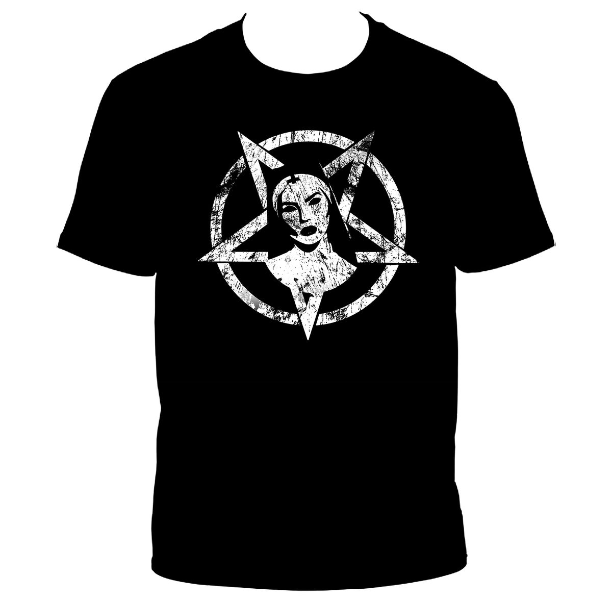 Image of [PRE-ORDER] Official Satanic Nun T-shirt