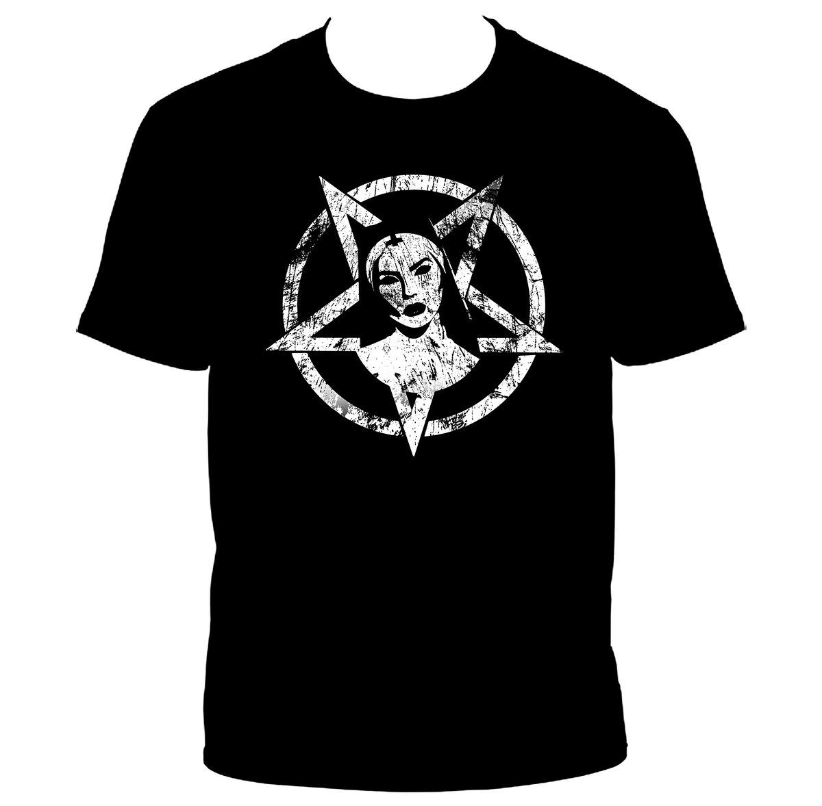 Image of [PRE-ORDER] Official Satanic Nun T-shirt