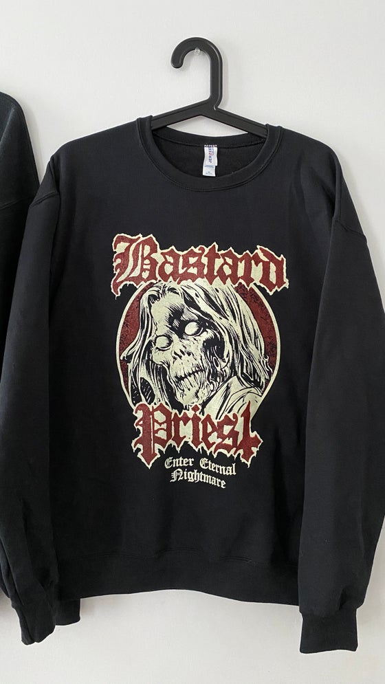 Image of Bastard Priest — Enter Eternal Nightmare Crewneck Sweatshirt