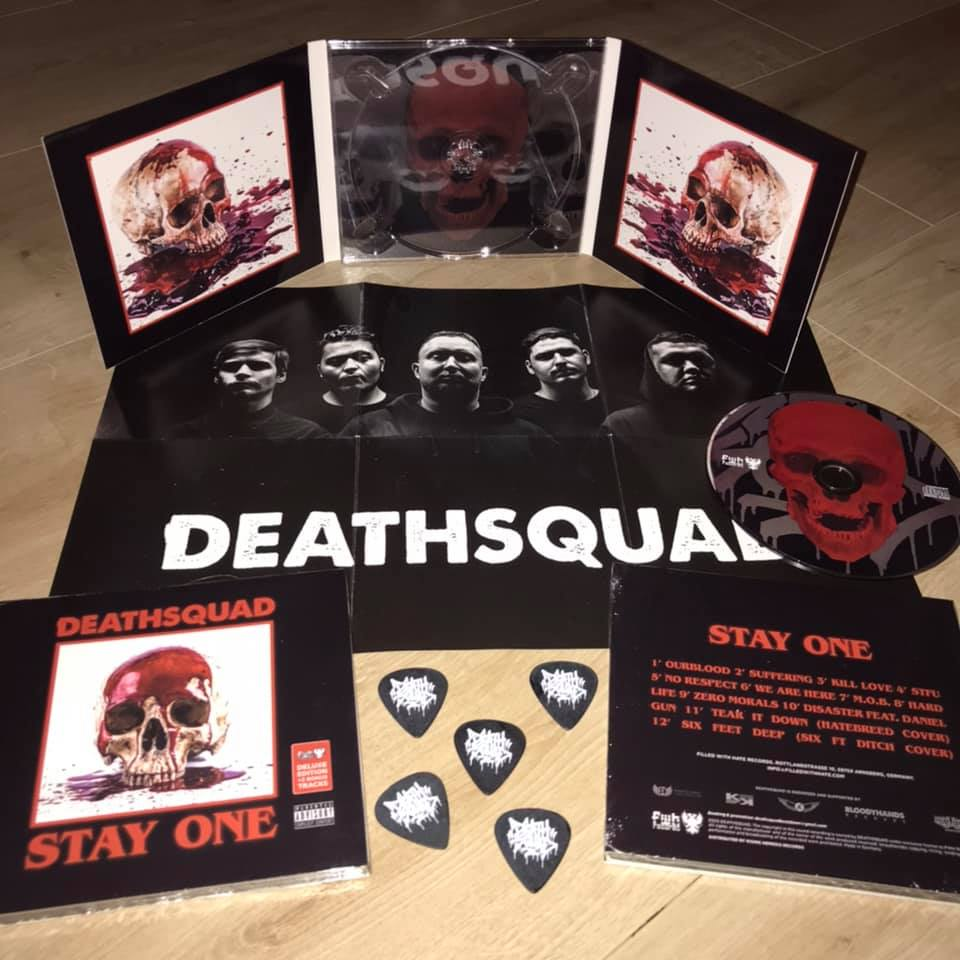 Image of DEATHSQUAD- Stqay One DIgiPack-CD