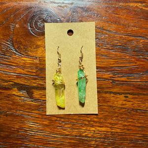 Image of Ahsoka Tano Kyber Earrings