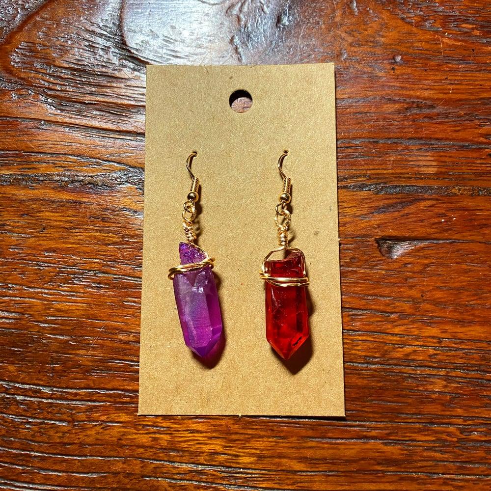 Darth Revan Kyber Earrings