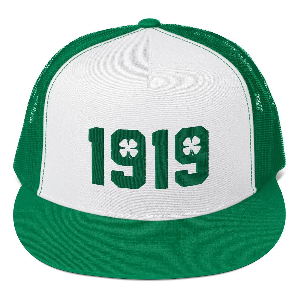 Image of 1919 St. Patrick's Day Trucker Hat