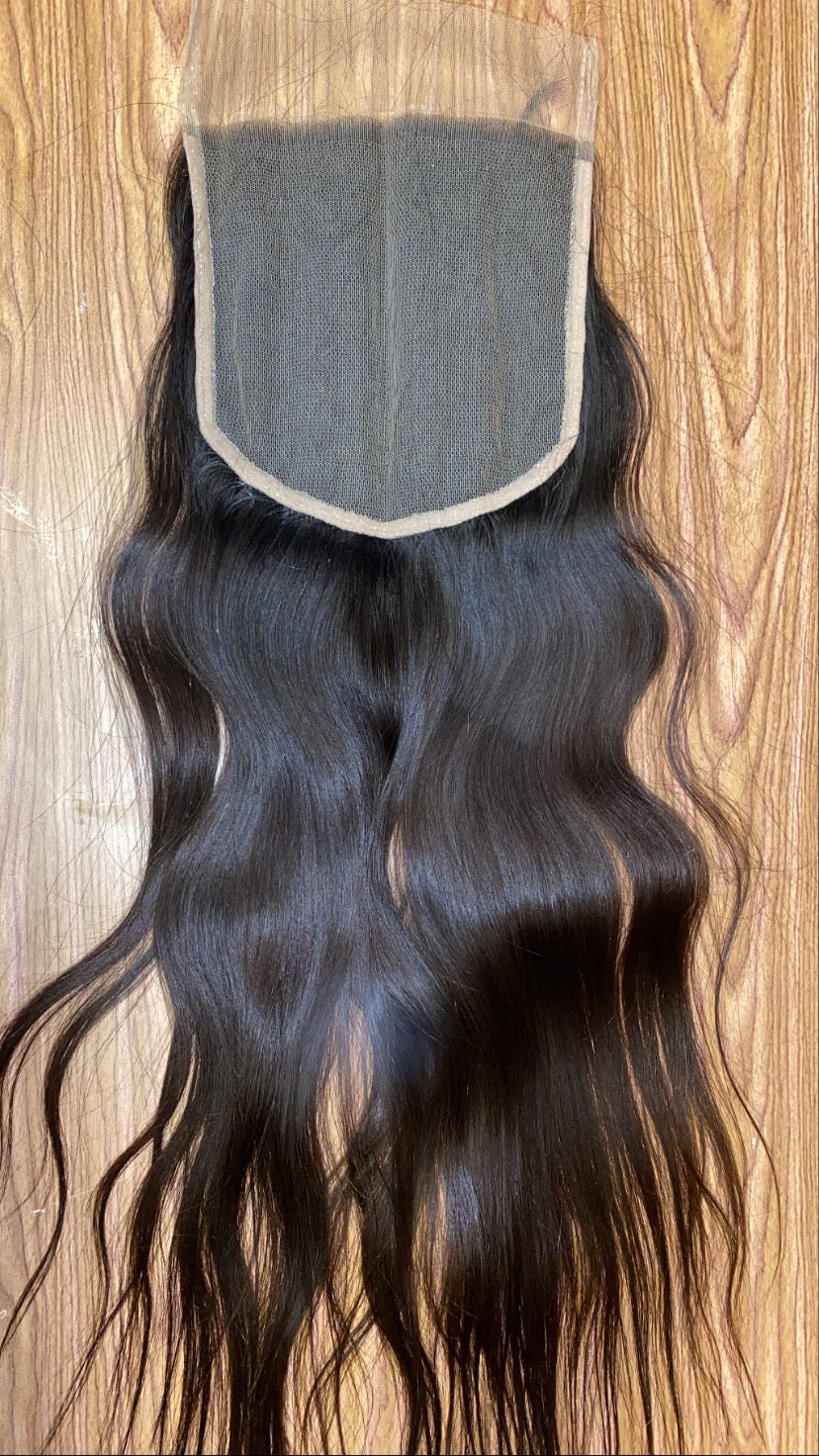 Image of Raw Indian closures 5*5, 6*6, 7*7,