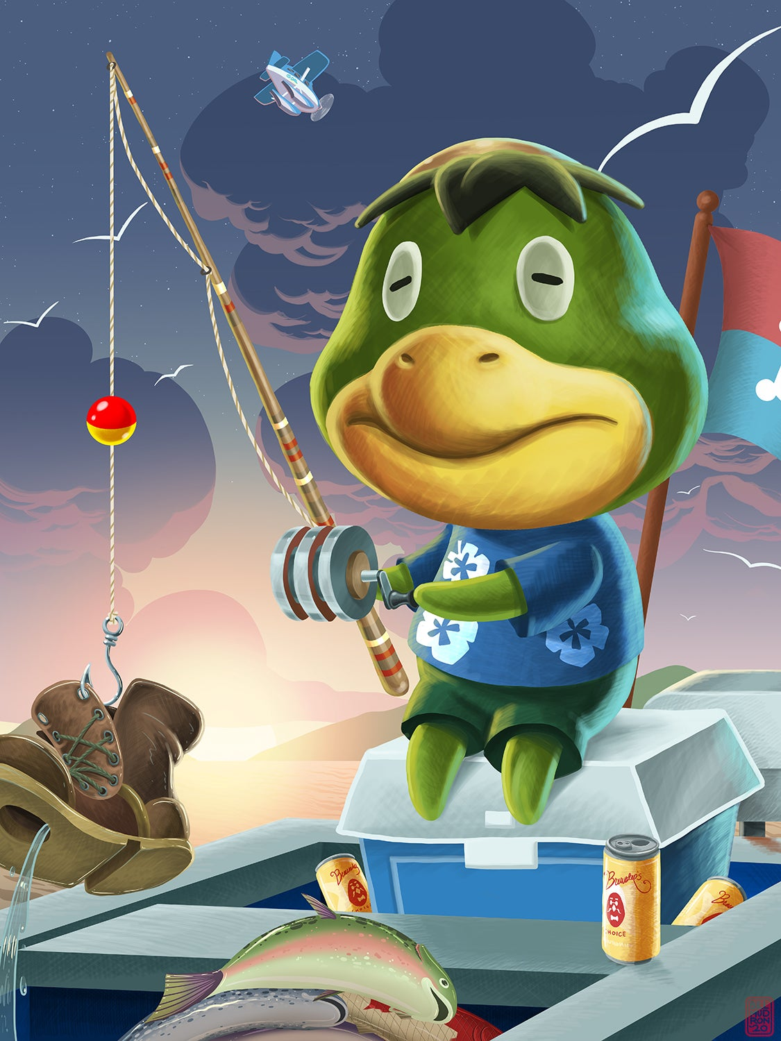 Image of Kapp'n - Animal Crossing