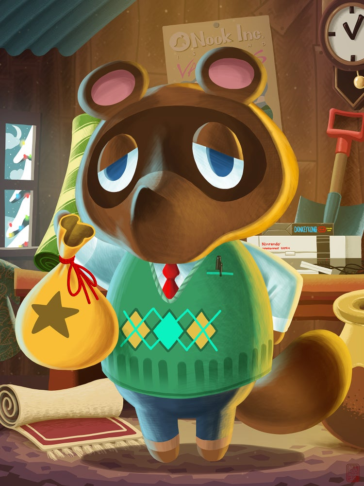 Image of Tom Nook - Animal Crossing
