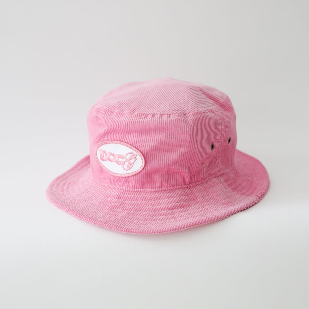 Image of DoCg CORDUROY BUCKET HAT (PINK)