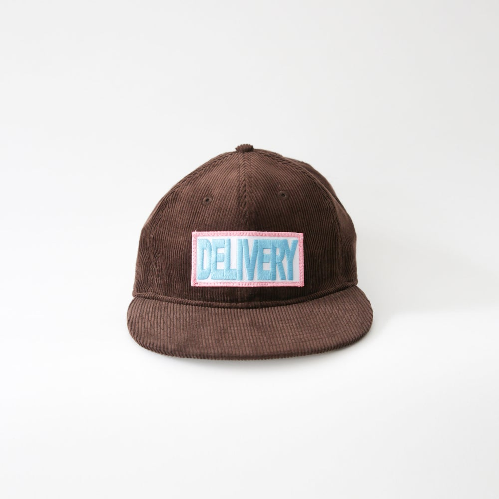 Image of DELIVERY CORDUROY HAT (BROWN)