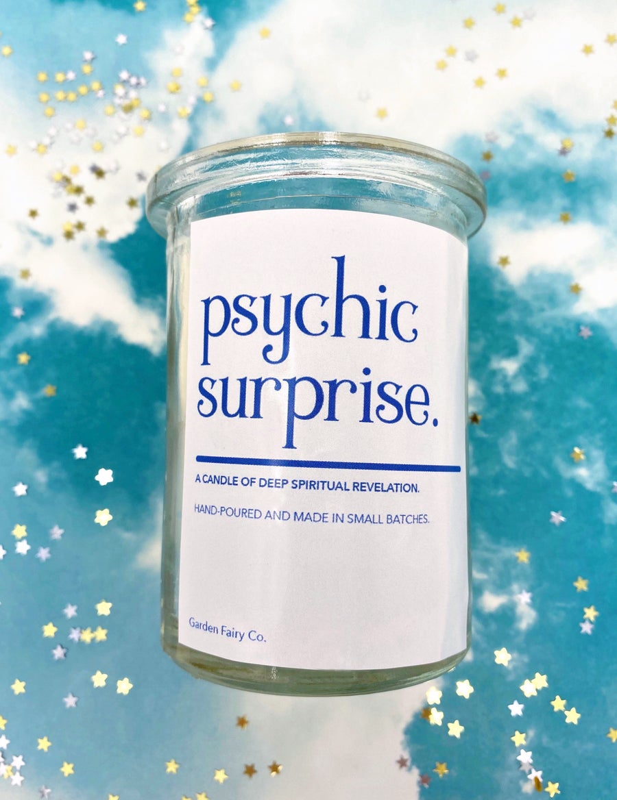 Image of Psychic Surprise Tarot Candle