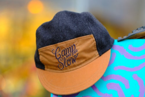 Image of Camp And Go Slow / Randi Jo Fab Wax & Wool Cap