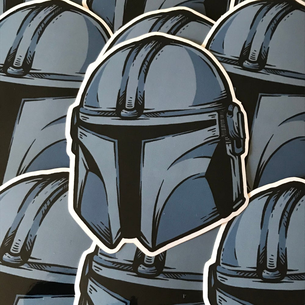 Image of MANDO (Sticker)