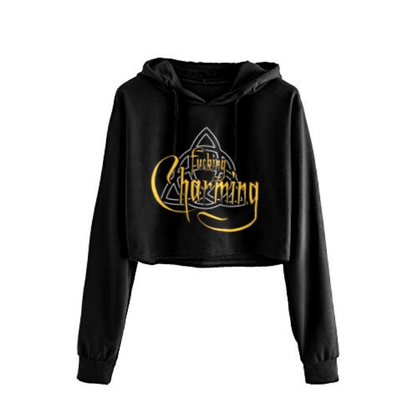 Image of Charming Cropped Hoodie