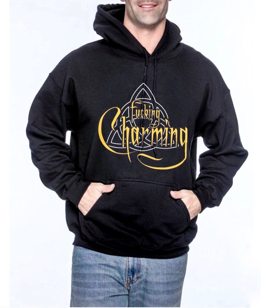 Image of Charming Unisex Pullover Hoodie