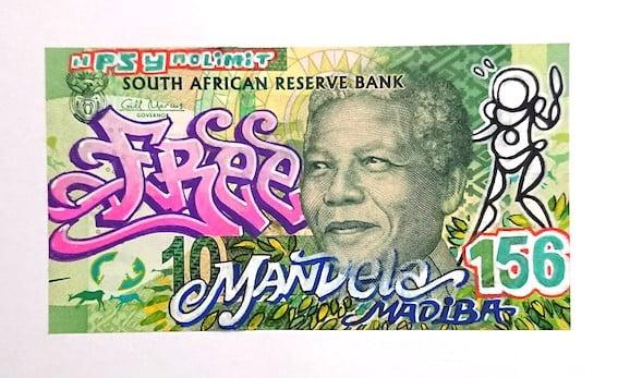 Billet de banque Afrique du Sud - PSY la boutik