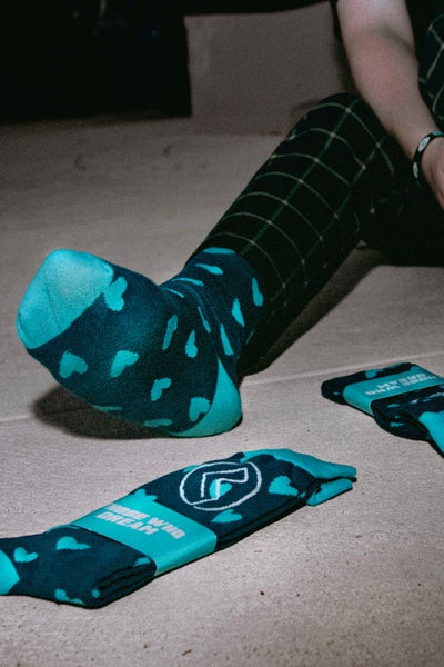 Image of Heart On Your Feet Socks