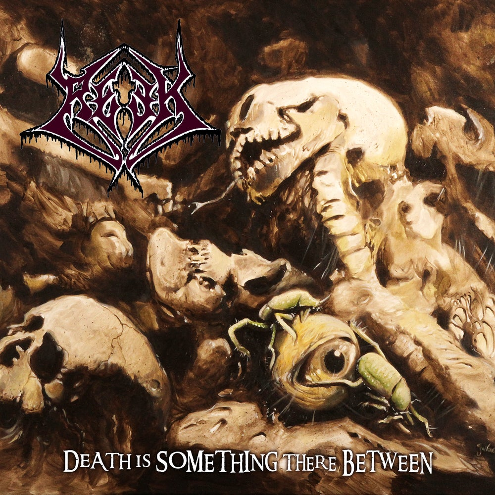 Image of Reek • Death is something there Between (Dark Red | Yellow | Black Swirl Vinyl)