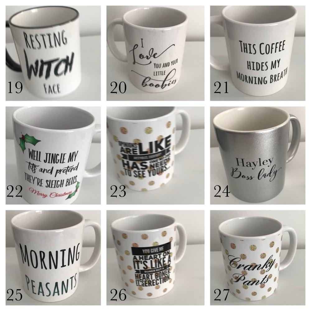 Image of Seconds mugs