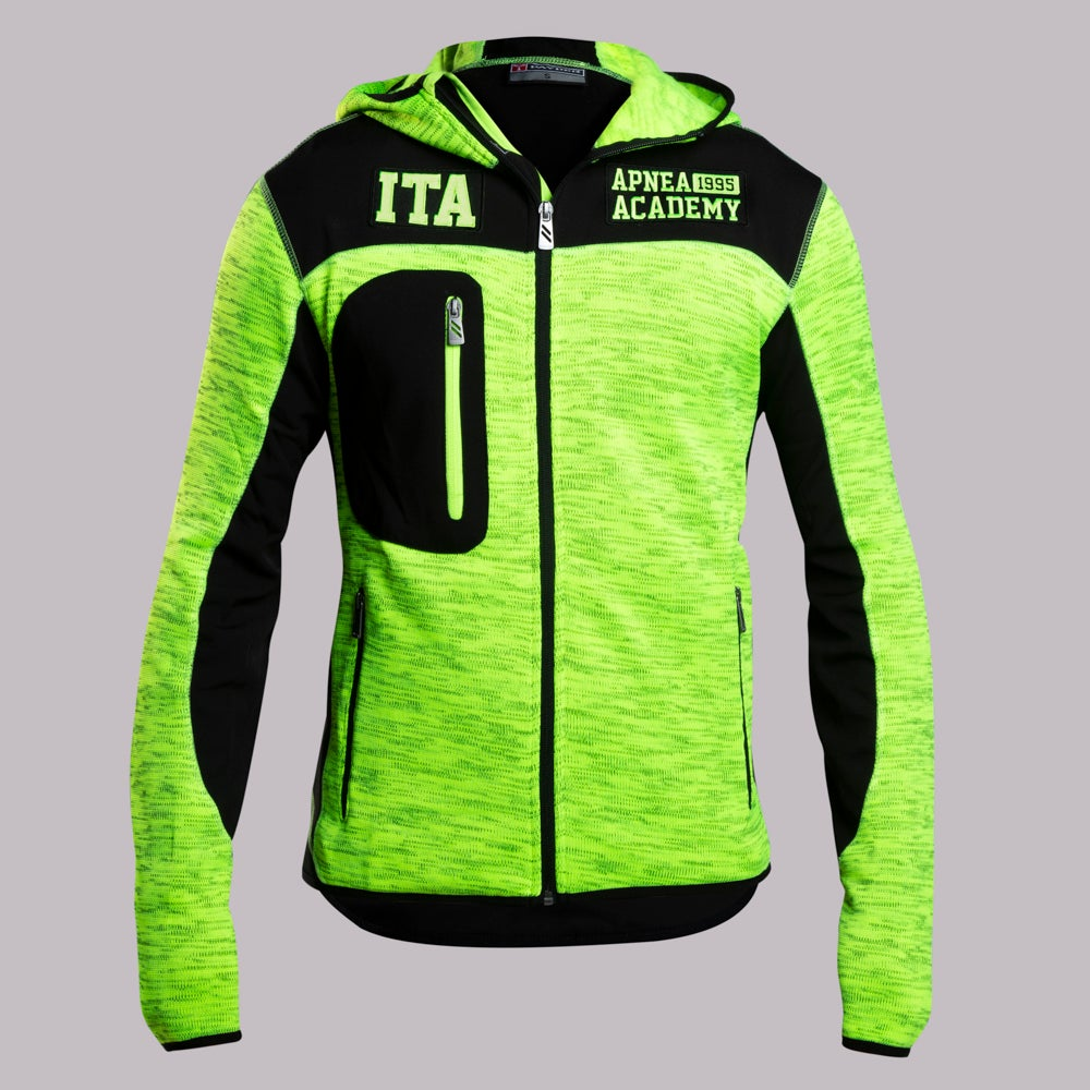 ABYSS JACKET FLUO BLACK