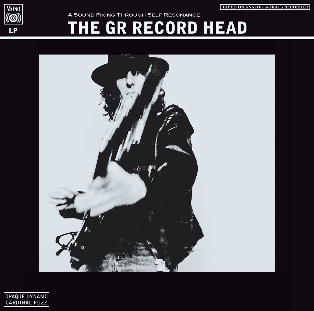 Image of THE GR RECORD HEAD (White Vinyl) Opaque Dynamo / Cardinal Fuzz 6 LEFT