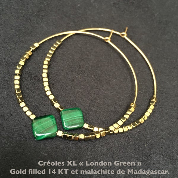 Image of CREOLES XL LONDON GREEN