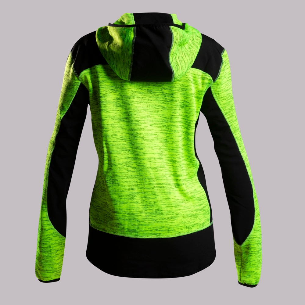 ABYSS JACKET WOMAN FLUO/BLACK